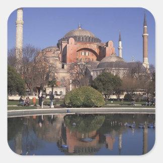 Hagia Sophia, Estambul, Turquía Colcomania Cuadrada