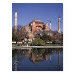 Hagia Sophia, Estambul, Turquía Tarjeta Postal