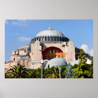 Hagia Sophia in Istanbul Print
