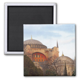Hagia Sophia inaugurated by the Byzantine 2 Inch Square Magnet