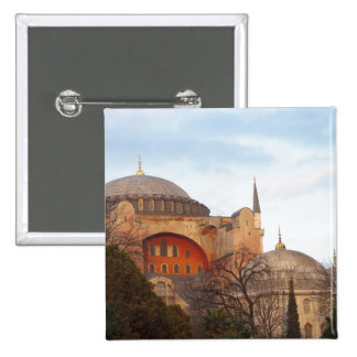 Hagia Sophia inaugurated by the Byzantine Pinback Button