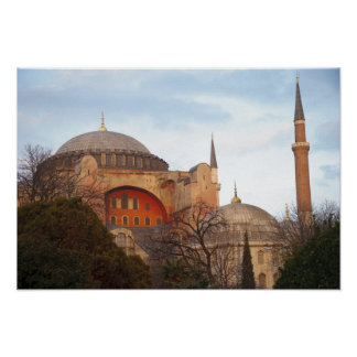Hagia Sophia inaugurated by the Byzantine Posters