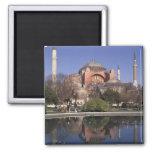 Hagia Sophia, Istanbul, Turkey 2 Inch Square Magnet