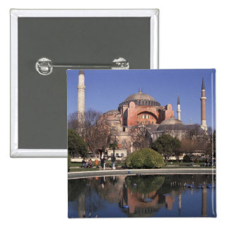 Hagia Sophia, Istanbul, Turkey Pinback Buttons
