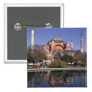 Hagia Sophia, Istanbul, Turkey Pinback Button