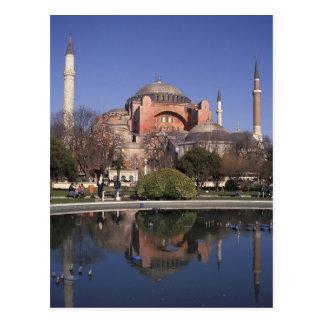 Hagia Sophia, Istanbul, Turkey Postcard