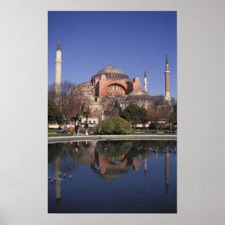 Hagia Sophia, Istanbul, Turkey Poster