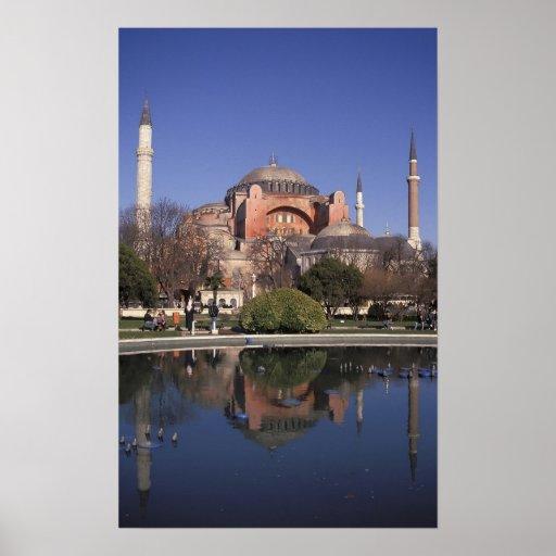 Hagia Sophia, Istanbul, Turkey Posters