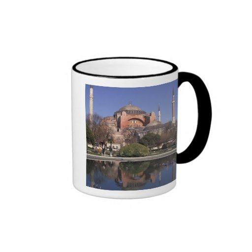 Hagia Sophia, Istanbul, Turkey Ringer Coffee Mug