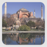 Hagia Sophia, Istanbul, Turkey Square Sticker