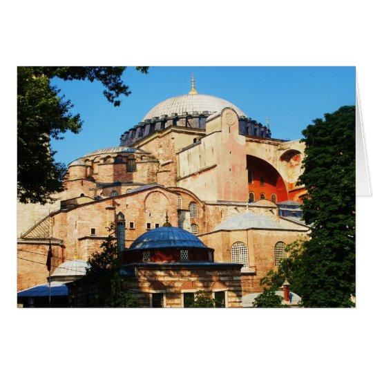 Hagia Sophia picture Card