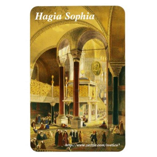 Hagia Sophia Premium Magnet