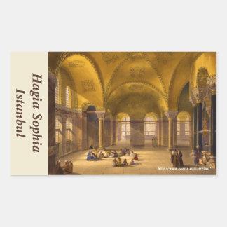 Hagia Sophia Rectangle Sticker Rectangle Stickers