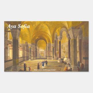 Hagia Sophia Rectangle Sticker Rectangle Sticker