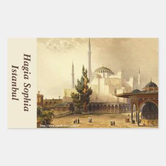 Hagia Sophia Rectangle Sticker Rectangular Sticker