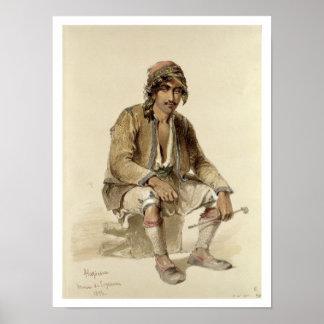 Hagiadur - de Erzerum, 1856 Póster