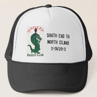 Hagley paddle club trucker hat