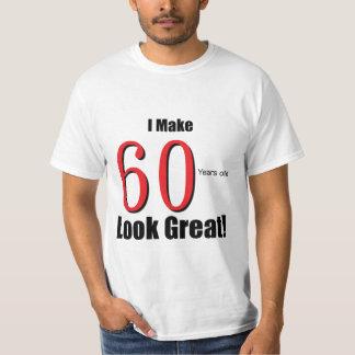 ¡Hago 60 años de la mirada grandes! Playera