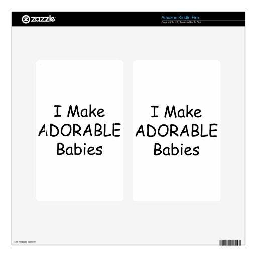 Hago a bebés adorables kindle fire skins