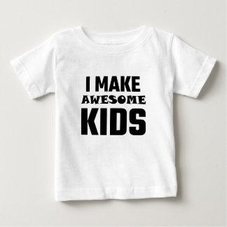 Hago a niños impresionantes t shirts