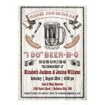 HAGO al fiesta de compromiso de la Cerveza-B-q inv Comunicado