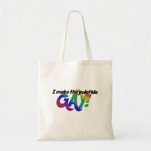 Hago al GAY del yuletide Bolsa