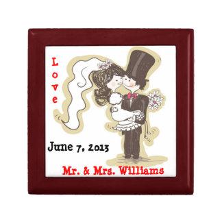 ¡Hago Caja del recuerdo del boda Caja De Joyas