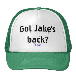¡Hago! ¿, Conseguido Jake detrás? Gorras De Camionero