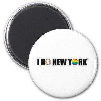 HAGO el anillo de NY Imán Redondo 5 Cm