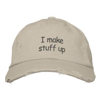 Hago el casquillo para arriba apenado de la materi gorra de beisbol