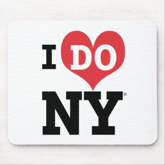 HAGO el corazón de NY Tapetes De Raton