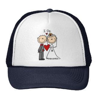 Hago el gorra de la ceremonia de boda