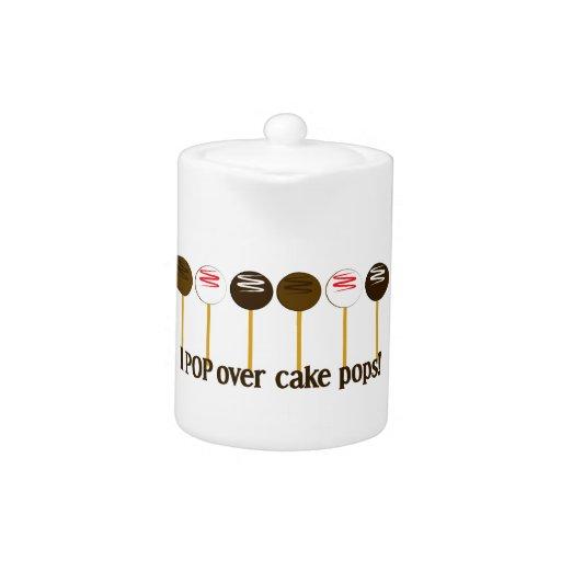 Hago estallar sobre estallidos de la torta