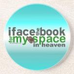 Hago frente al libro para Myspace Posavasos Cerveza