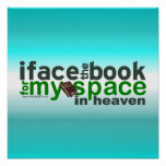 Hago frente al libro para Myspace Posters