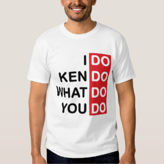 Hago Kendo… Camiseta Remera