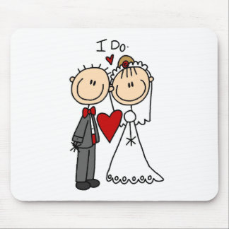 Hago la ceremonia de boda Mousepad