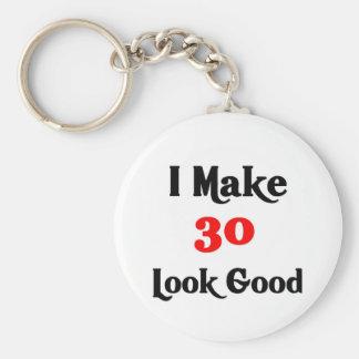 Hago la mirada 30 buena llaveros personalizados