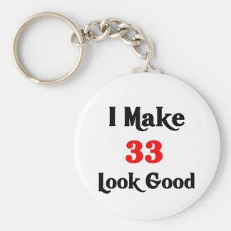 Hago la mirada 33 buena llavero redondo tipo pin