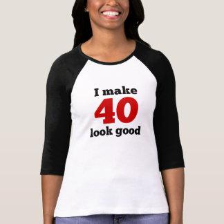 Hago la mirada 40 buena playera