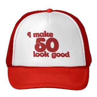 Hago la mirada 50 buena gorras de camionero