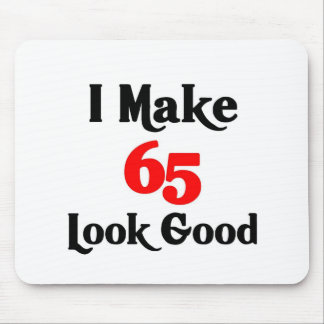 Hago la mirada 65 buena tapete de ratón