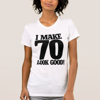 Hago la mirada 70 buena camisetas