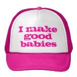 Hago los buenos bebés el gorra