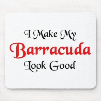Hago mi mirada del Barracuda buena Alfombrilla De Ratón