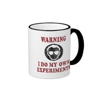 Hago mi propio Grunge retro de los experimentos Tazas De Café