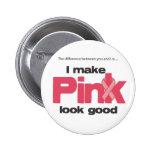 Hago mirada rosada buena pin