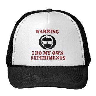 Hago mis propios experimentos gorros bordados