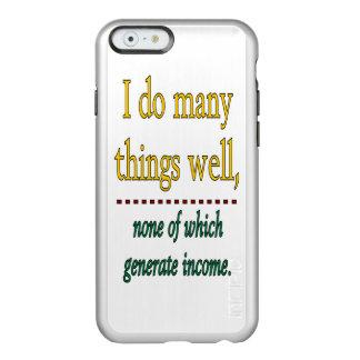 HAGO MUCHAS COSAS BIEN FUNDA PARA iPhone 6 PLUS INCIPIO FEATHER SHINE
