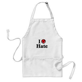 Hago no de amor y odio delantales